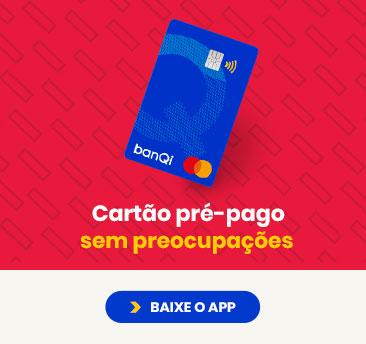 Cartão pré-pago sem anuidade e sem preocupações banQi